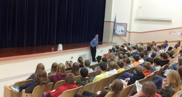 SPEAKING TO 5-8TH GRADERS